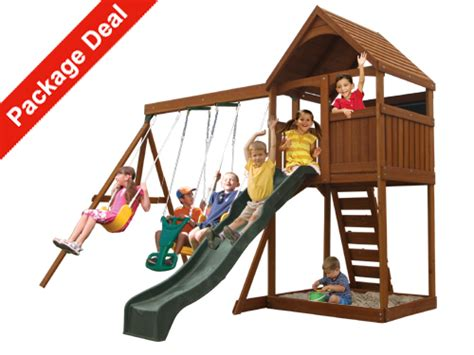 admiral swingset with glider package