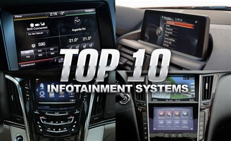 top  infotainment systems autoguidecom news