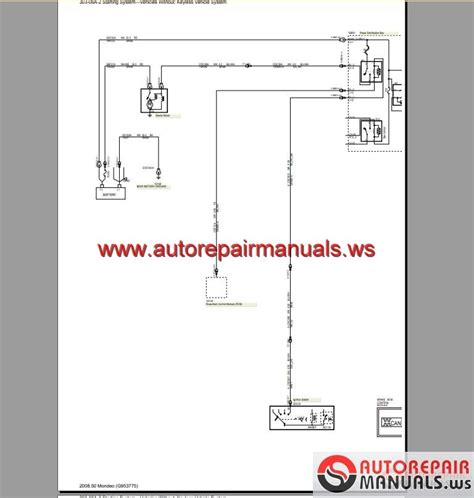 ford mondeo cd  wiring systems diagram auto