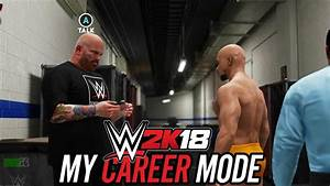 WWE 2K18 MY CAREER MODE - FIRST LOOK!! DETAILS REVEALED ...