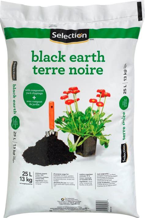 selection black earth