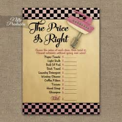 Price Right Baby Shower Game Gallery