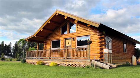 single level  log cabin youtube