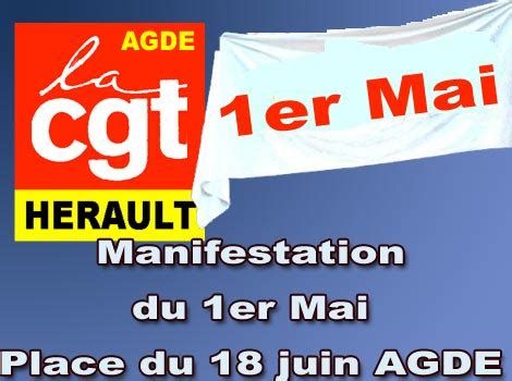 politique manifestation du 1er mai place du 18 juin agde h 233 rault tribune