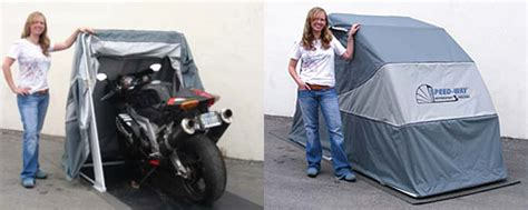 Retractable Motorcycle Shelter Released