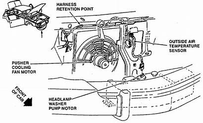 Cadillac Deville Air Temperature Temp Outside Switch