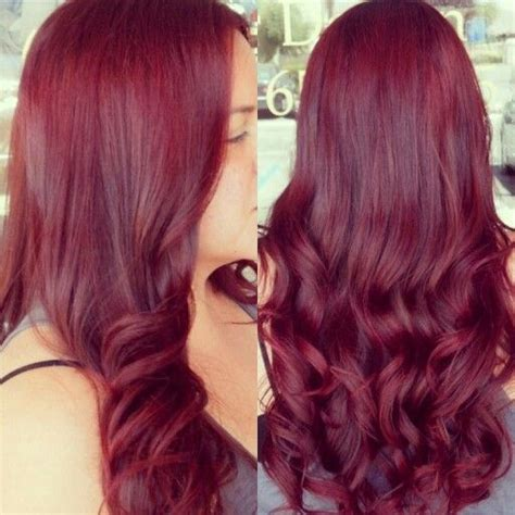 Beautiful Red Violet Hair Color Hair By Raquel Silva