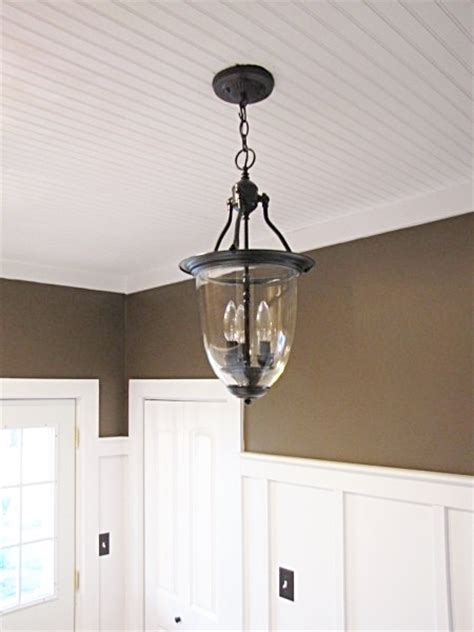 3 00 brass pendant light turned into pottery barn style