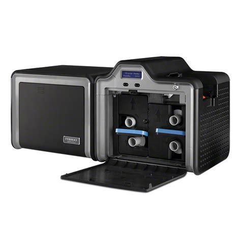 fargo hdpii card printer encoder financial cards hid