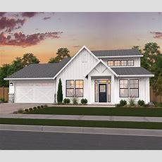 Lagrande Modern Farmhouse Plan  Modern Farmhouse Designs