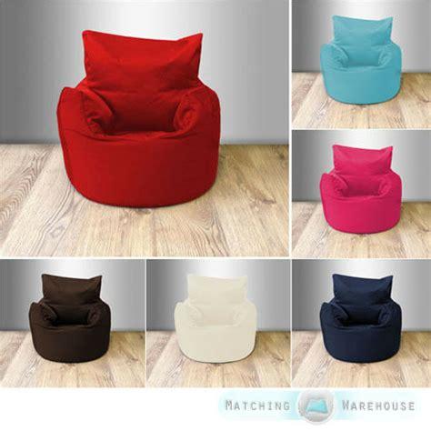 Baby Armchair Uk by Cotton Twill Children S Beanchair Bean Bag Seat Chair