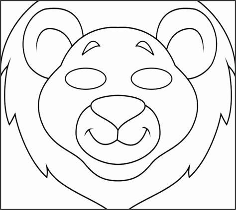 animal mask templates children  sampletemplatess sampletemplatess