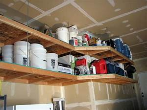 Making DIY Garage Storage