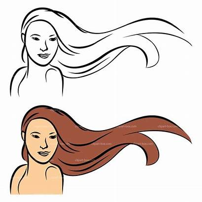 Hair Clipart Hairstyle Clip Cliparts Styles Web