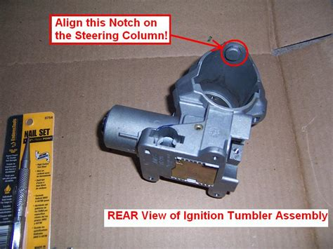 diy  volvo  ignition switch cylinder lock