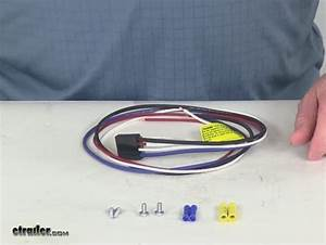 2010 Toyota Tacoma Pigtail Wiring Harness For Tekonsha And