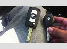 BMW e39 Folding Flip Key Case Shell Refit YouTube