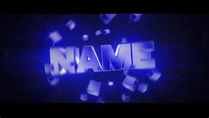 best free blue 3d blender intro template download With free animated video intro templates
