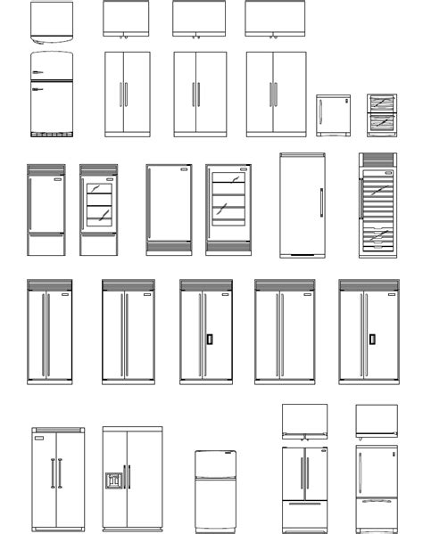 Furniture Cad Templates | Joy Studio Design Gallery - Best
