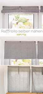 Raffrollo Selber Nähen Anleitung Ikea : diy einfache raffrollos selber n hen leelah loves ~ Orissabook.com Haus und Dekorationen
