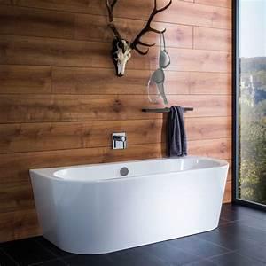 Duschvorrichtung Für Badewanne : repabad livorno freistehende oval badewanne f r ~ Michelbontemps.com Haus und Dekorationen