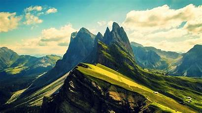 Mountain Mountains Ridges Dolomites Desktop Backgrounds Wallpapers