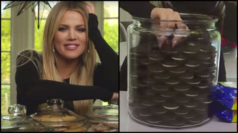 Oreo Cookie Jar Khloe Kardashian Khloe Kardashian Is Very Anal About Her Cookie Jar Rtm