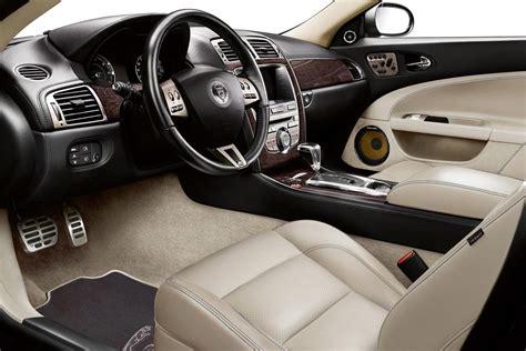 fast cars  jaguar xj interior
