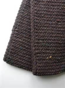 Man's Scarf Knitting Pattern