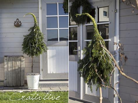Weihnachtsbaum Aus Zweigen Binden by Diy Tannenbaum Mit Zipfelm 252 Tze Creativlive