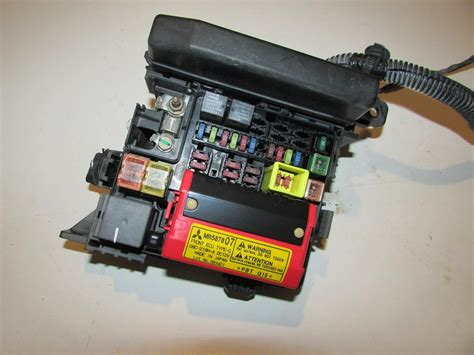 04 Mitsubishi Galant Fuse Box 04 06 mitsubishi galant 3 8l v6 gts relay fuse