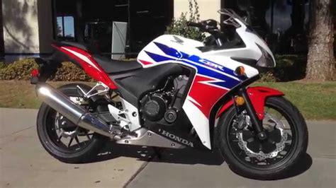 Honda Cbr500r Picture by 2014 Honda Cbr500r White Tricolor