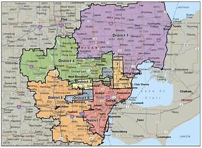 Map Zip Michigan Code Southeast Gmar Maps