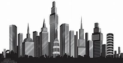 Clipart Clip Silhouette Cityscape Transparent Background Mcdonalds