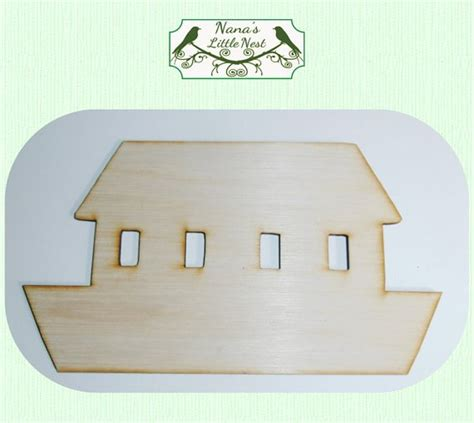 Ark Large Boat by Noahs Ark Ark Boat Large Wood Cut Out Laser Cut