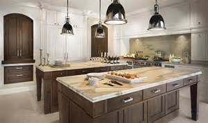 Kitchens With Two Islands Spacious Modern Wooden Kitchen Decoration Ideas 2015 New Year Kitchen Designs With Two Islands