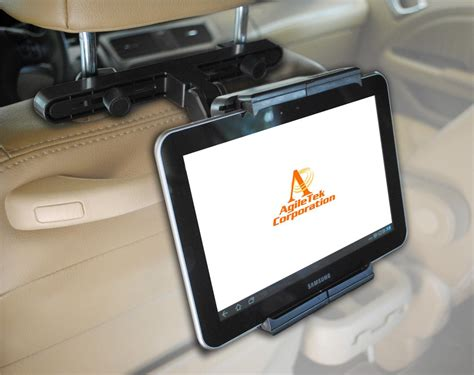 Car Headrest Tablet Smartphone Mount Holder For Ipad