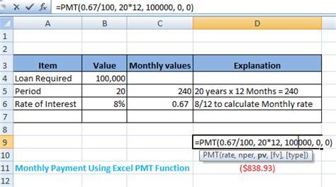 excel pmt function  gantt chart excel