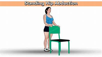 Hip Abduction Standing Exercises Exercise Extension Bone
