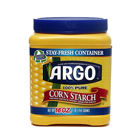 home goods salt l argo corn starch 16oz sugar salt flour home goods