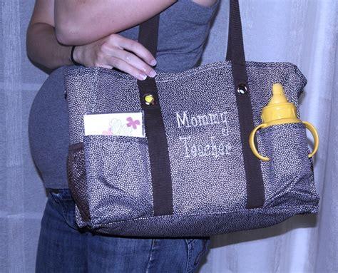 monogram tote bags   diaper bag