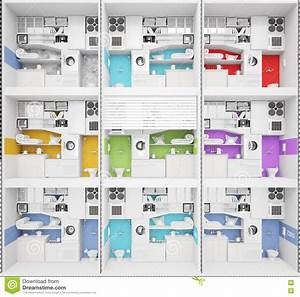 Apartment Building Structure Stock Image
