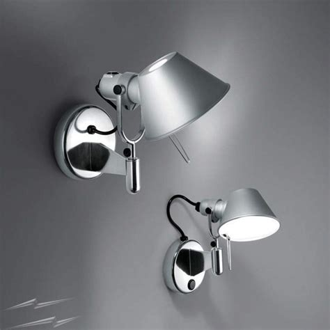 ay471 artemide tolomeo micro faretto wall light with