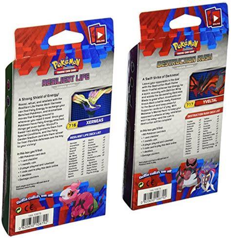 both decks pokemon 2014 tcg card game xy theme decks