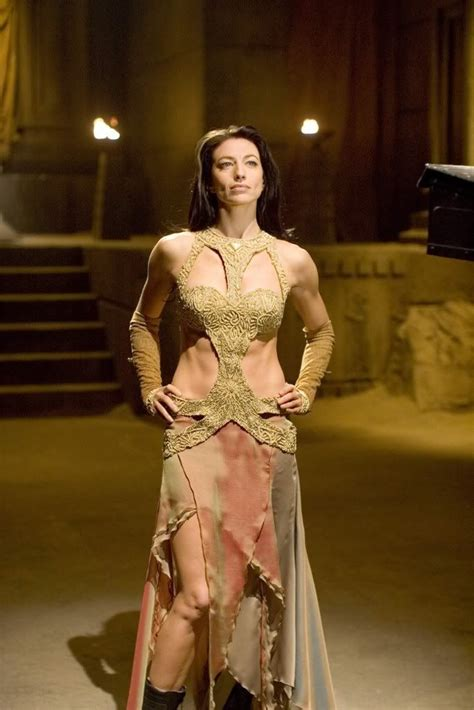 claudia black sexy vala pretending to be a goa uld stargate sg 1 women of