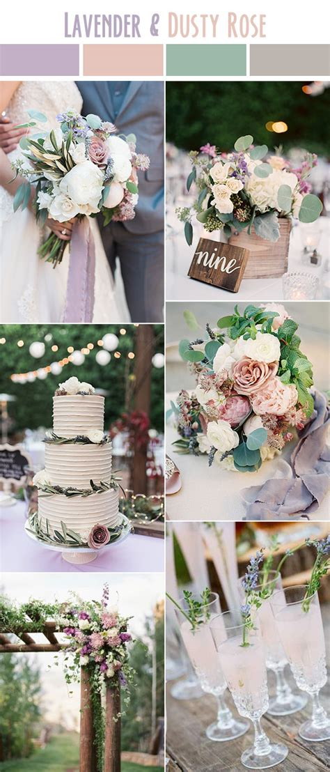 10 Best Wedding Color Palettes For Spring And Summer 2017