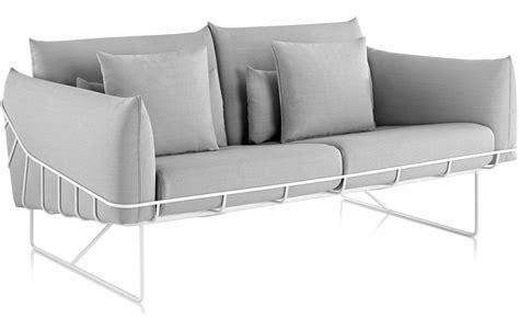 wireframe 2 seat sofa hivemodern