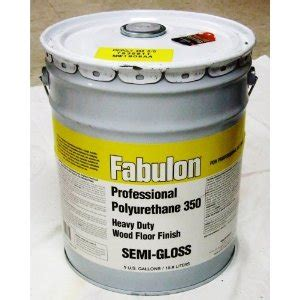 fabulon professional polyurethane heavy duty floor finish