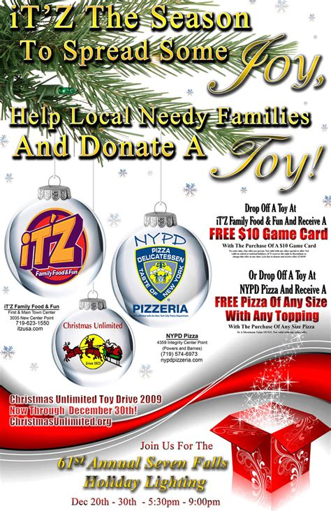 christmas unlimited toy drive colorado springs