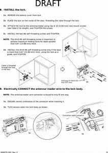 Hanchett Entry Systems Kksr100pa Aperio Cabinet Lock  K100